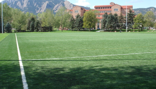 University of Colorado Kittredge Intramural Fields, Boulder CO