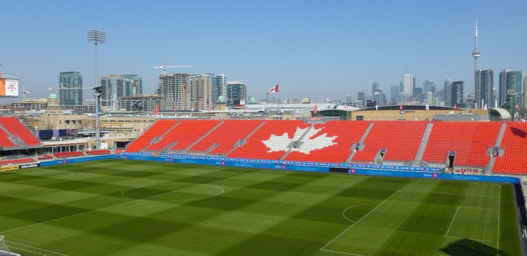 Toronto Football Club BMO Field, Toronto ON, Canada